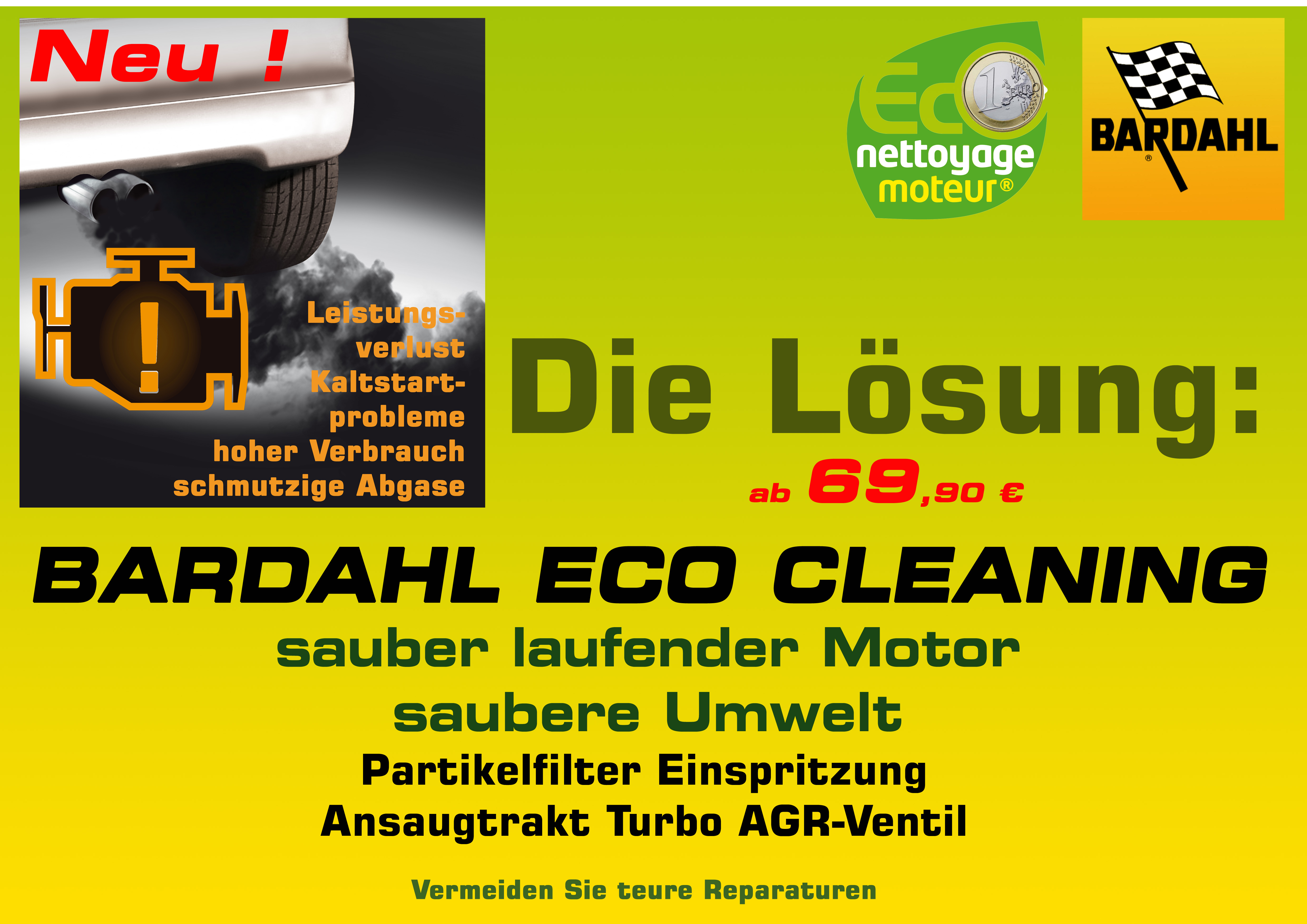 ECO CLEANING A3